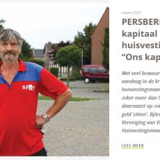 Persbericht van VVH: Ons kapitaal zijn mensen