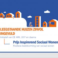DE ARK genomineerd voor Prijs Inspirerend Sociaal Wonen