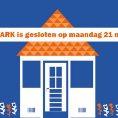 Nu maandag is DE ARK gesloten.