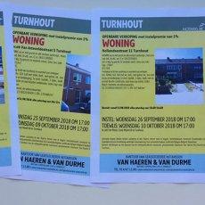 Vier huizen openbaar te koop in Turnhout