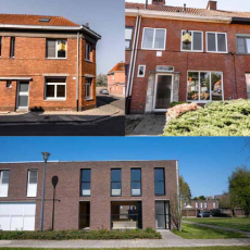 Turnhout: 3 huizen openbaar te koop - instel op maandag 3 juni