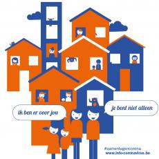 Onze bewoners staan er niet alleen voor - samen voor warme buurten